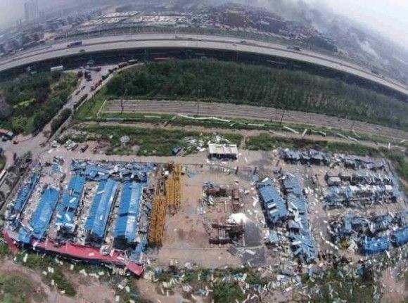 天津爆発画像31