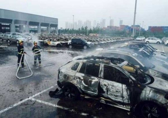 天津爆発画像14