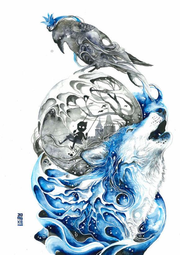 水彩画10