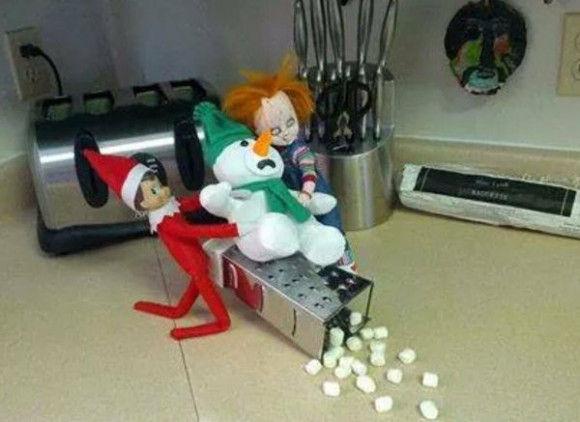 人形たちの爆笑クリスマス5
