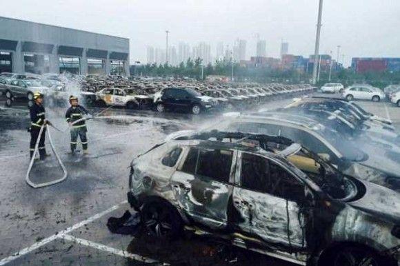 天津爆発画像39