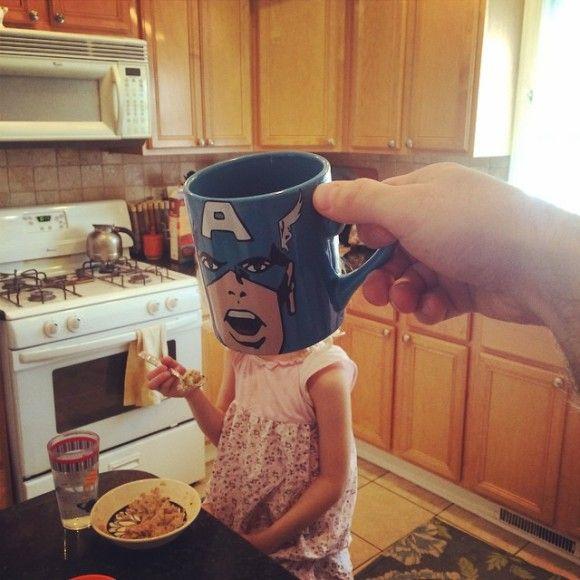 マグカップでスーパーヒーローに変身?!1