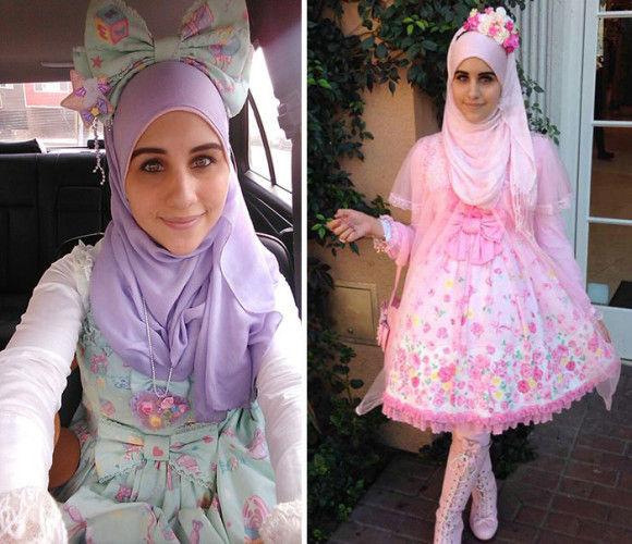 イスラム教徒のロリータファッション2