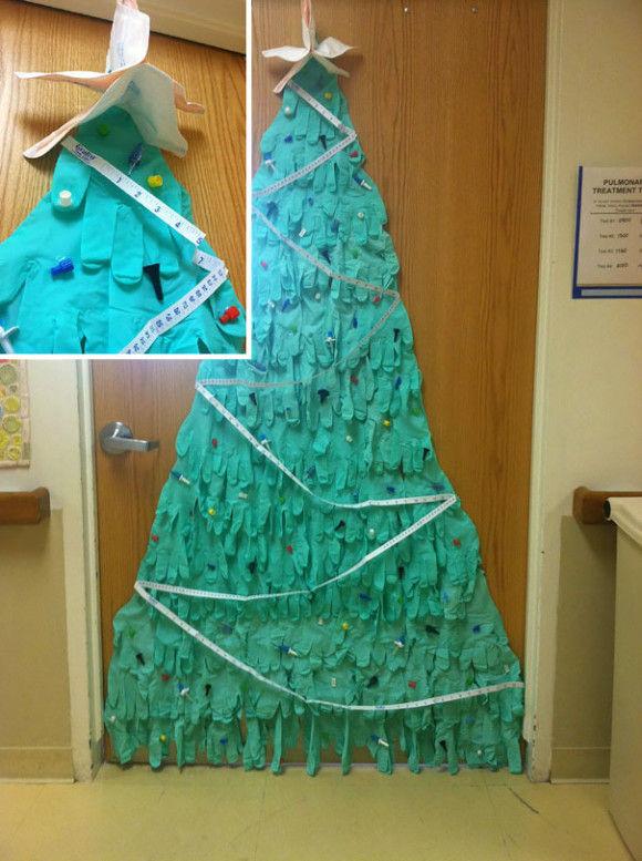 海外病院のクリスマスデコレーション7