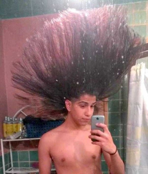 凄い髪型15