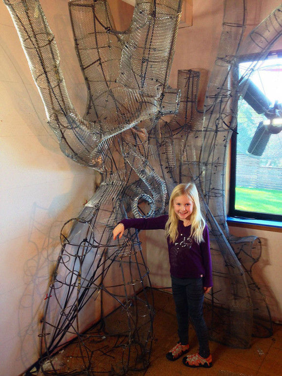 娘の為に作った妖精の樹の部屋7