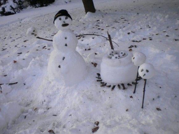 恐ろしすぎる雪だるま3