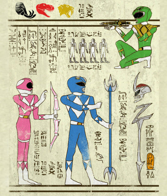 古代の壁画アニメ7