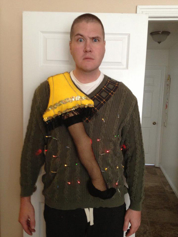 最高にダサいクリスマスセーター18