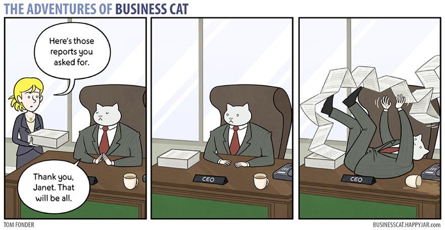 ネコが上司だったら7