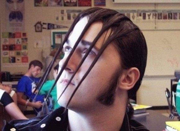 ものすごい髪型18