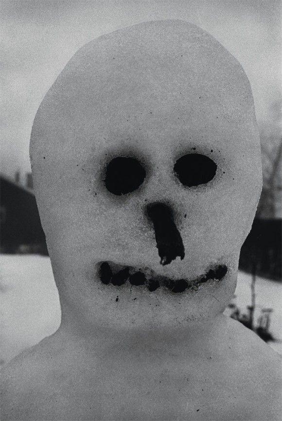 恐ろしすぎる雪だるま8