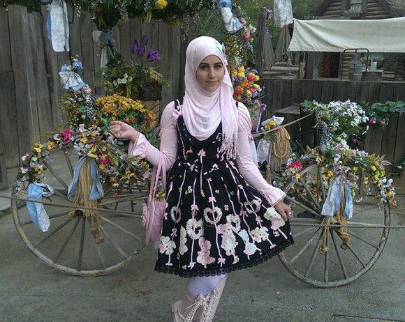 イスラム教徒のロリータファッション3