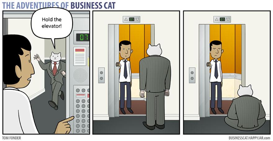 ネコが上司だったら16