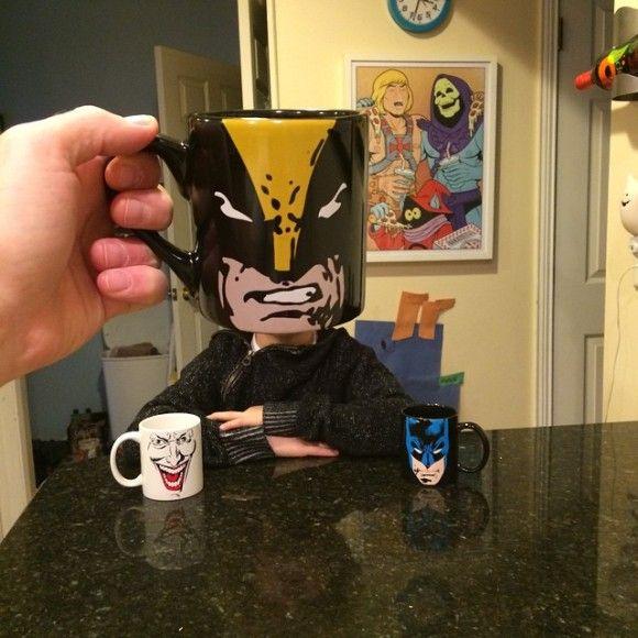マグカップでスーパーヒーローに変身?!5