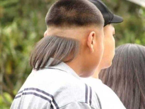 凄い髪型13