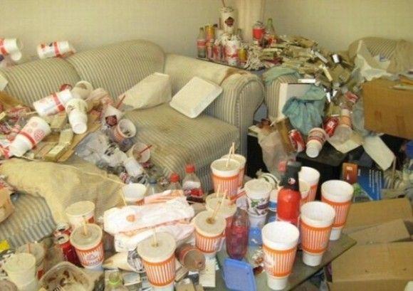 汚すぎる部屋16