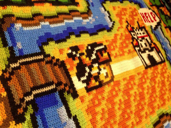 編み物スーパーマリオ4