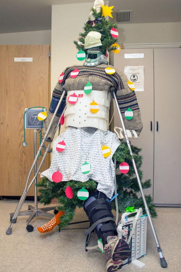 海外病院のクリスマスデコレーション14