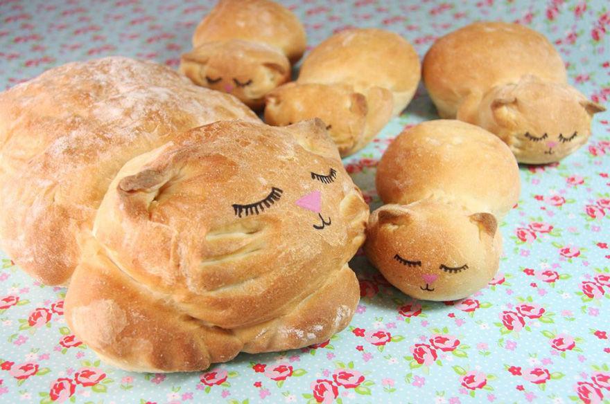 ネコのパン3