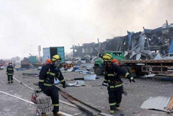 天津爆発画像33