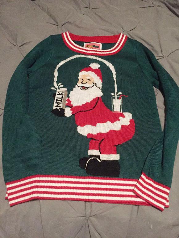 最高にダサいクリスマスセーター8