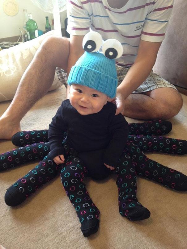 1ハロウィン赤ちゃん仮装4