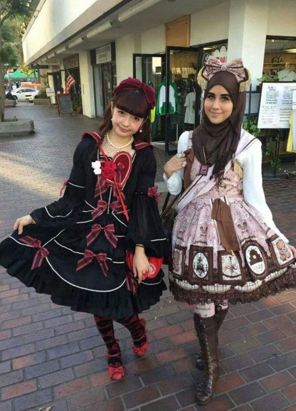 イスラム教徒のロリータファッション8