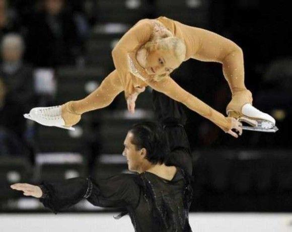 フィギアスケートでの一面