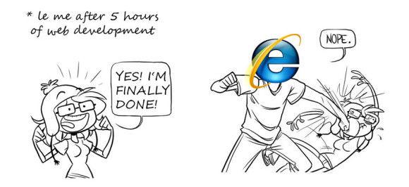 Internet-Explorerの扱いが酷い9