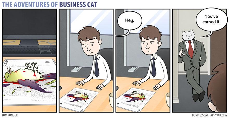 ネコが上司だったら5
