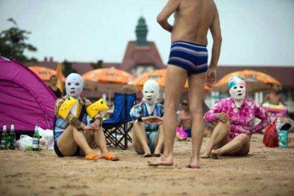 中国の奇妙な海のファッション14