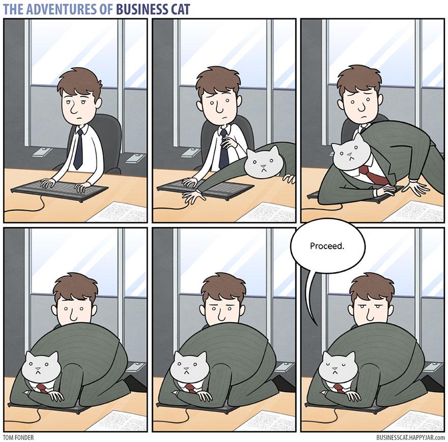 ネコが上司だったら4