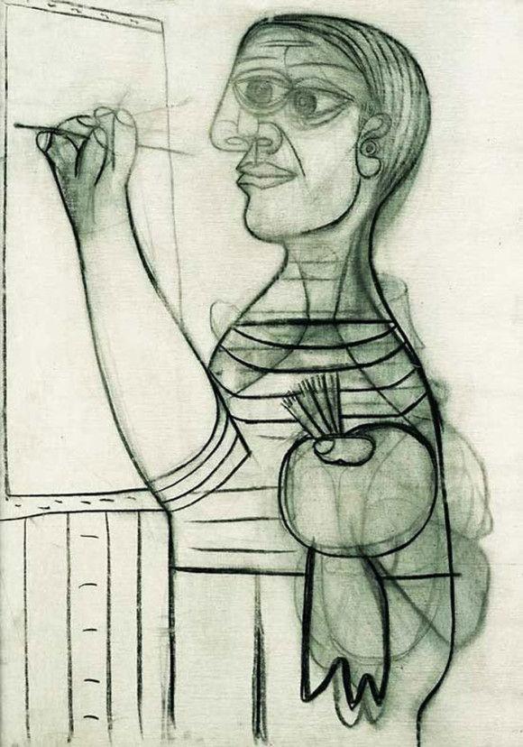 ピカソの自画像7