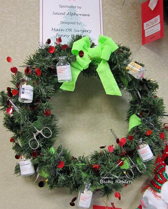 海外病院のクリスマスデコレーション6