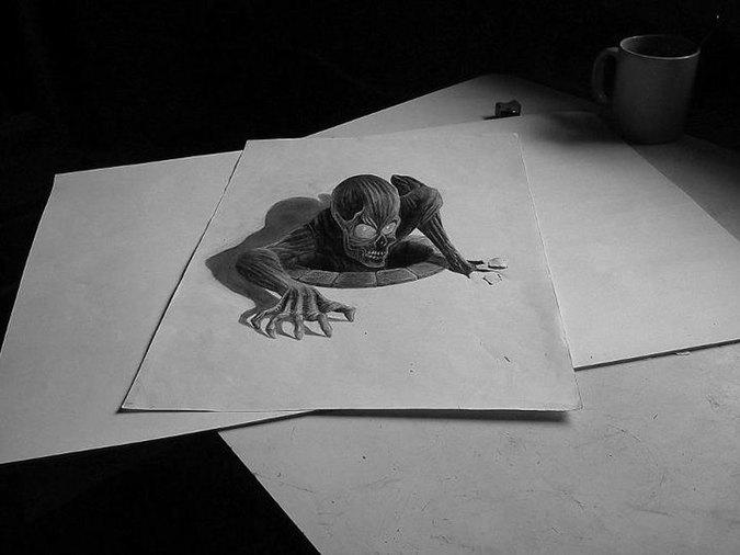 凄すぎる3Dアート6