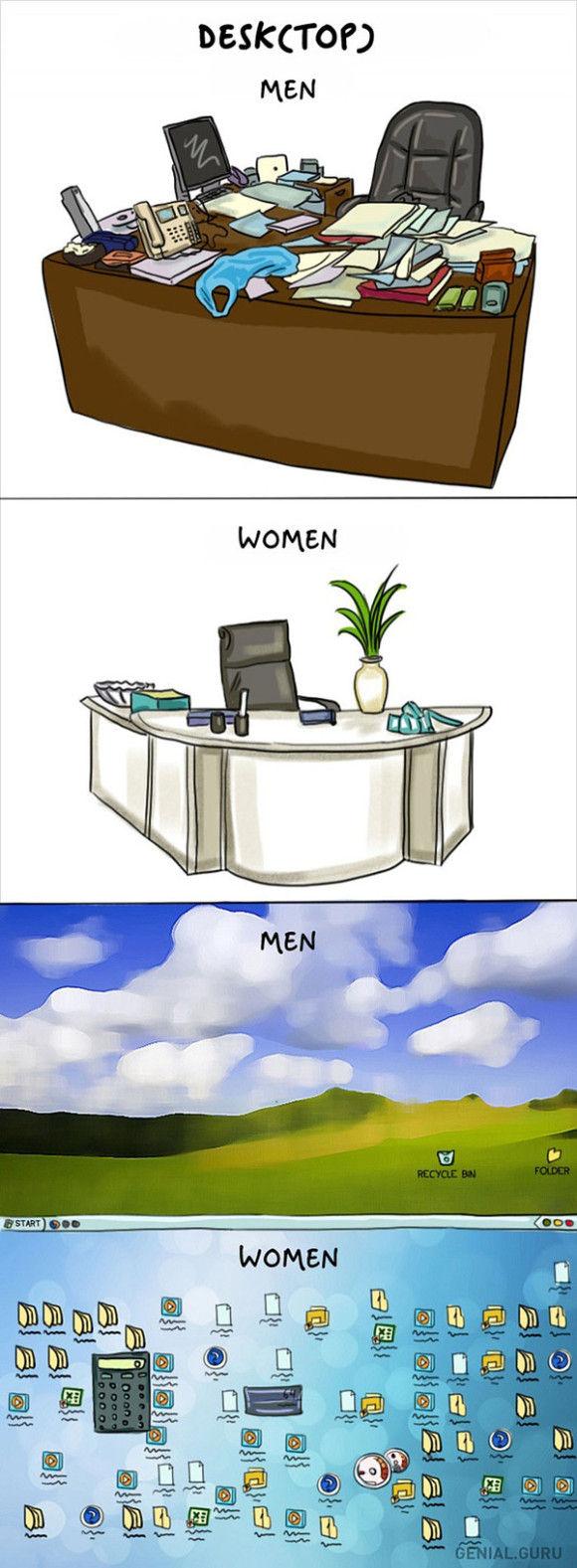男と女の違い12