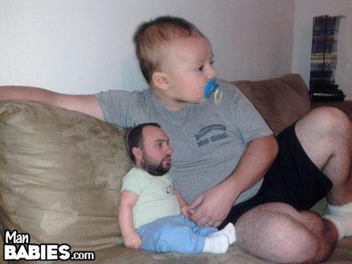 赤ちゃんと親を入れ替えたったwww16