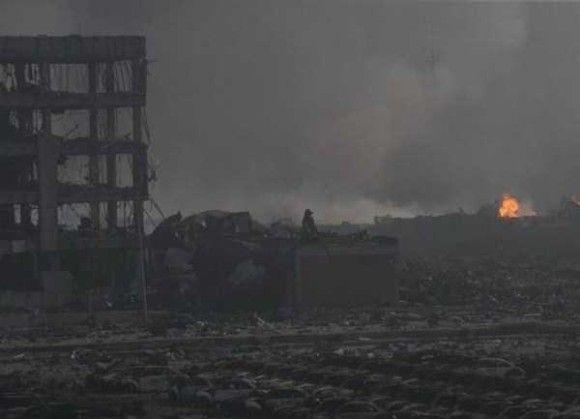 天津爆発画像16