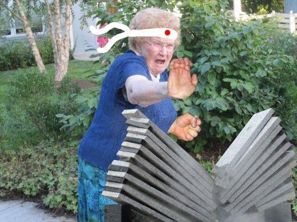 おばあちゃんの画像を加工4
