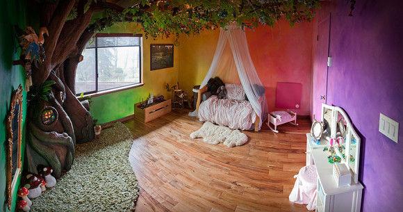 娘の為に作った妖精の樹の部屋3