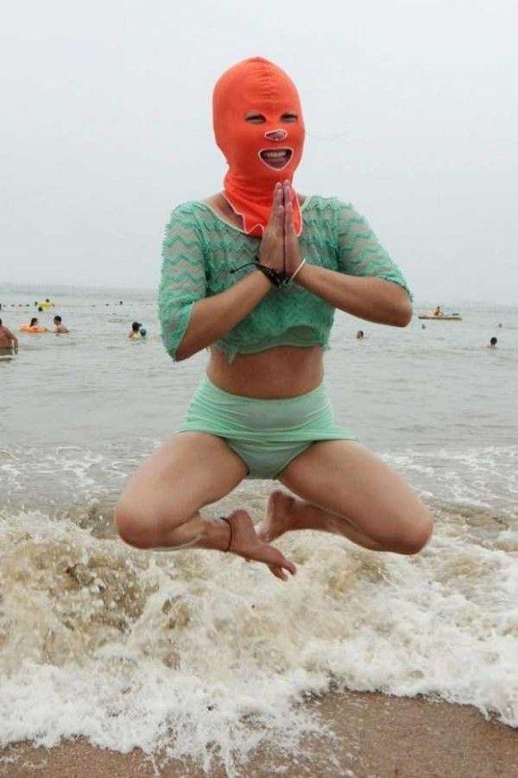 中国の奇妙な海のファッション2