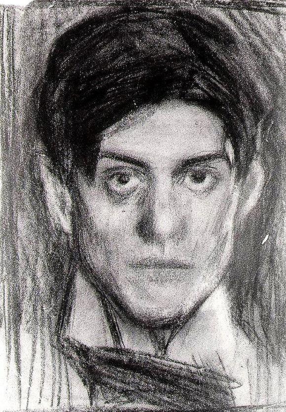 ピカソの自画像2