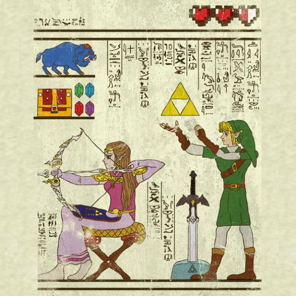 古代の壁画アニメ10