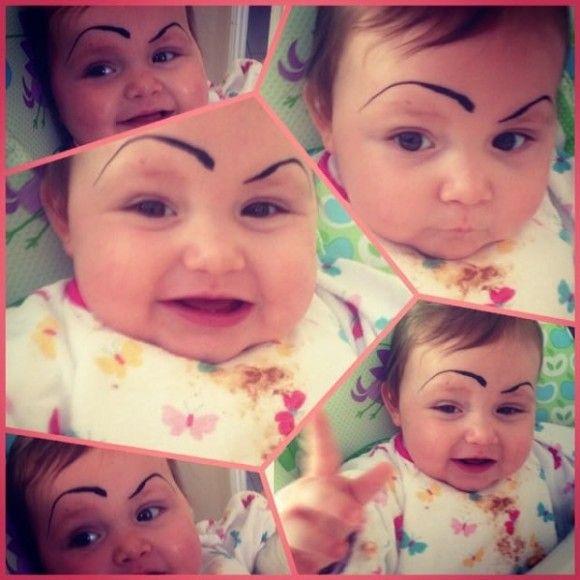 笑える赤ちゃん20