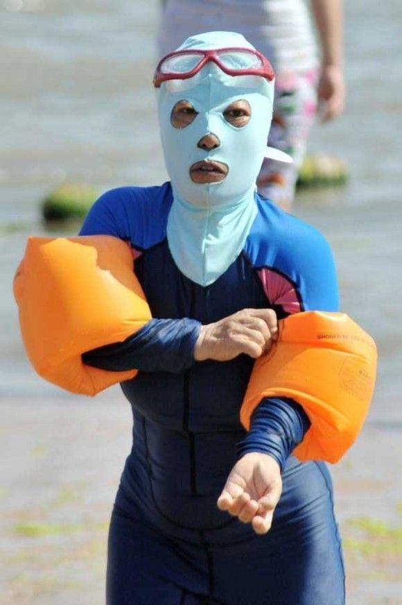 中国の奇妙な海のファッション4