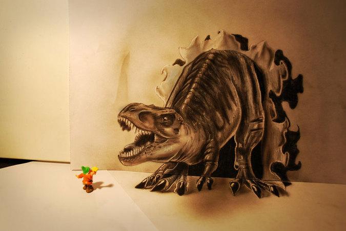 凄すぎる3Dアート1
