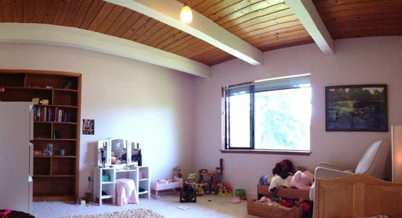 娘の為に作った妖精の樹の部屋2
