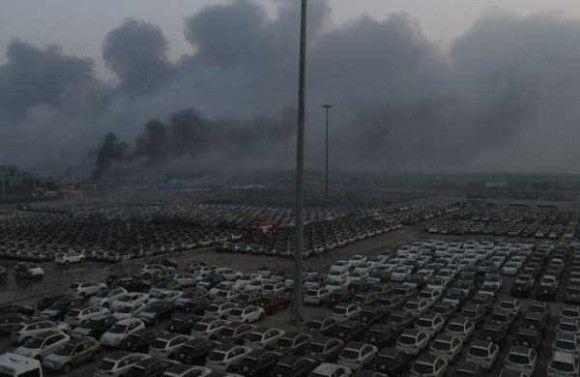 天津爆発画像34