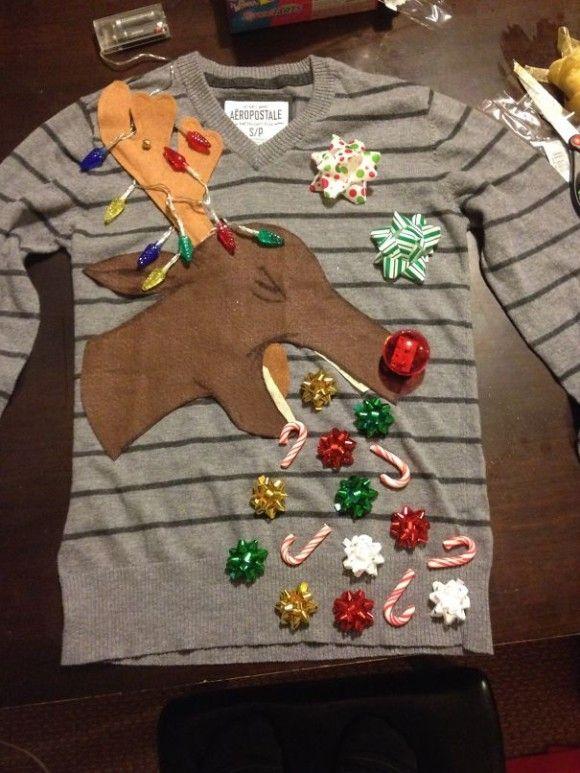 最高にダサいクリスマスセーター9